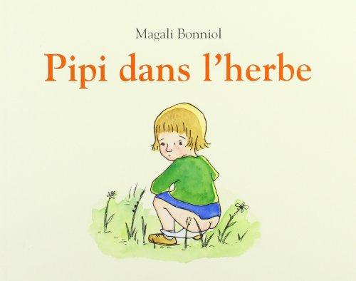Pipi dans l'herbe